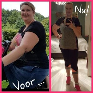 Lydia van der Meer 16 kilo afgevallen